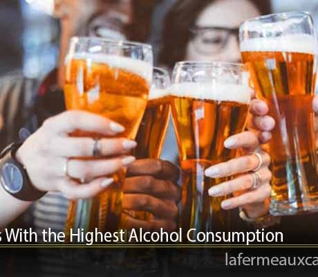 Countries With the Highest Alcohol Consumption