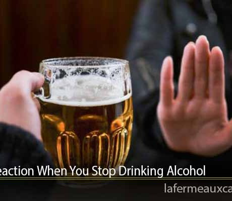 Body's Reaction When You Stop Drinking Alcohol